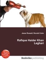 Rafique Haider Khan Leghari