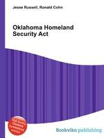 Oklahoma Homeland Security Act