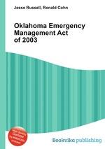 Oklahoma Emergency Management Act of 2003