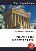 Pan Am Flight 103 bombing trial