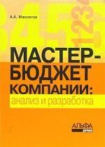 Мастер-бюджет компании: анализ и разработка