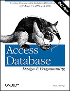 Access Database Design & Programming 3rd edition на английском языке