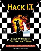 Hack I.T. - Security Through Penetration Testing (+CD)