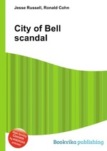 Обложка книги City of Bell scandal
