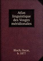 Atlas linguistique des Vosges mridionales