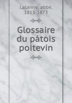 Glossaire du ptois poitevin