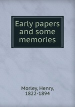 Early papers and some memories