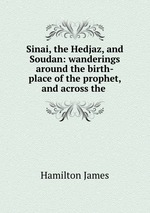 Sinai, the Hedjaz, and Soudan: wanderings around the birth-place of the prophet, and across the
