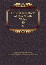 Обложка книги Official Year Book of New South Wales. 40