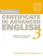 Cambridge Certificate in Advanced English 3. Student`s Book with answers