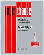 Interchange 1. Teacher`s manual