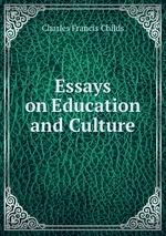 books essays education