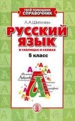 Русский язык в таблицах и схемах. 5 класс
