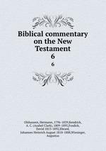 Обложка книги Biblical commentary on the New Testament. 6