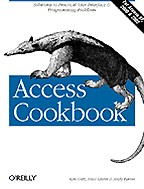 Access Cookbook with CD: на английском языке