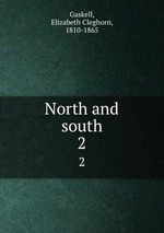 North and south. 2