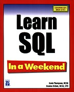 Learn SQL In a Weekend. На английском языке