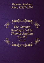 st thomas aquinas the summa theologica