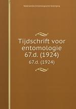 Tijdschrift voor entomologie. 67.d. (1924)