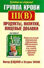 Группа крови III(В). Продукты, напитки, пищевые добавки
