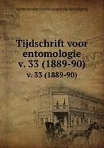 Tijdschrift voor entomologie. v. 33 (1889-90)