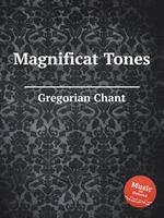 Обложка книги Magnificat Tones