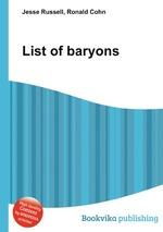 List of baryons