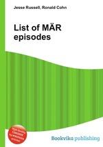 List of MR episodes
