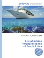 List of marine Perciform fishes of South Africa