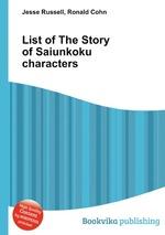 List of The Story of Saiunkoku characters