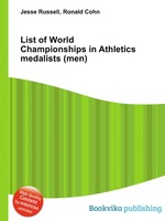 List of World Championships in Athletics medalists (men)