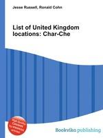 List of United Kingdom locations: Char-Che