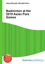 Badminton at the 2010 Asian Para Games