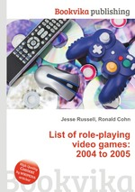 List of role-playing video games: 2004 to 2005