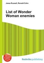 List of Wonder Woman enemies