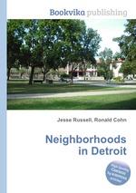 Neighborhoods in Detroit