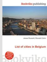 List of cities in Belgium