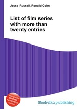 List of film series with more than twenty entries