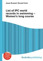 List of IPC world records in swimming – Women`s long course