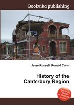 History of the Canterbury Region