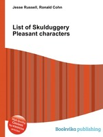 List of Skulduggery Pleasant characters