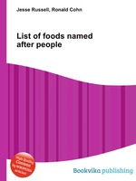 List of foods named after people