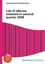 List of albums released in second quarter 2009