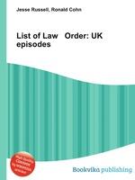 List of Law Order: UK episodes