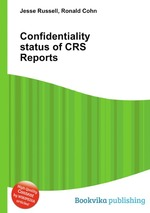 Confidentiality status of CRS Reports