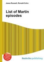 List of Martin episodes