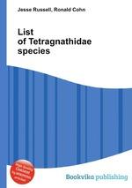List of Tetragnathidae species