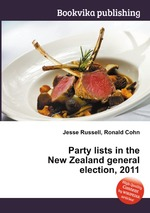 Party lists in the New Zealand general election, 2011