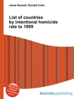 List of countries by intentional homicide rate to 1999