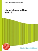 List of places in New York: B